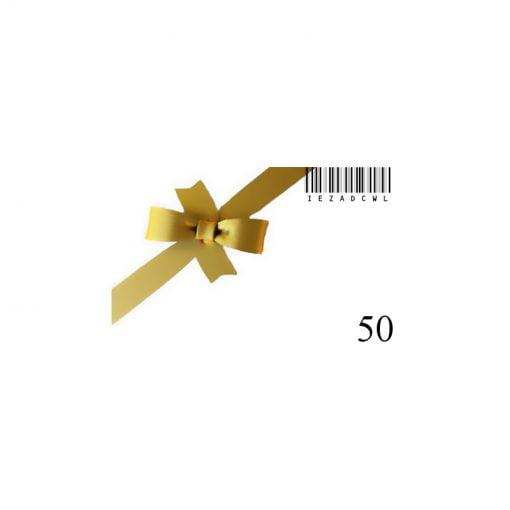 Nouvelle carte cadeau-50