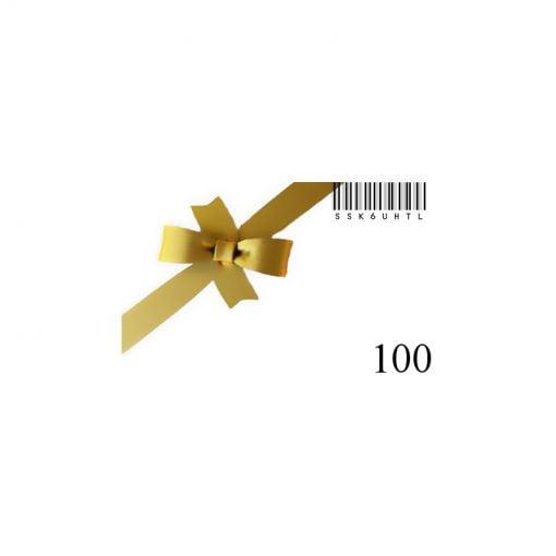 Nouvelle carte cadeau-100